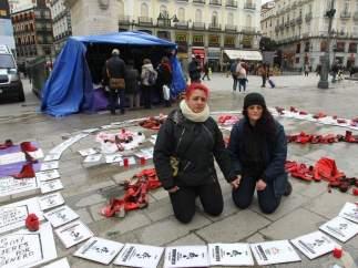 Huelga de hambre en Sol