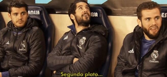 Isco y Morata