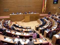 Ple de les Corts Valencianes en imatge d'arxiu