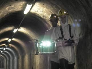 Drones inspeccionarán redes de alcantarillado en Barcelona.
