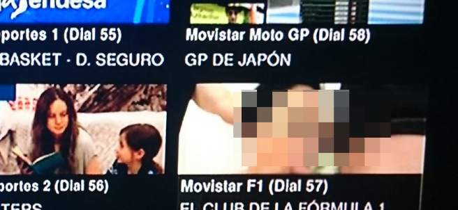 Porno en Movistar