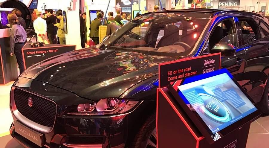 Presentación de Jaguar en el MWC