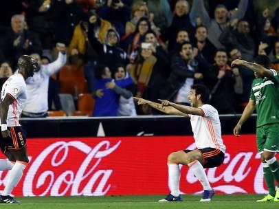 Gol del Valencia al Leganés
