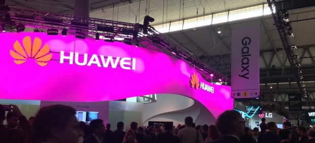 Huawei en el MWC.