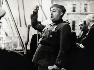 Francisco Franco, Bilbao, abril, 1939