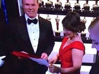 Los responsables de los sobres de los Oscar