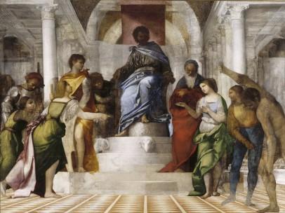 Sebastiano del Piombo- The Judgement of Solomon, about 1506-9