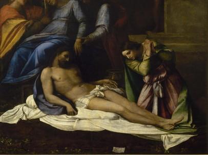 Sebastiano del Piombo - Lamentation over the Dead Christ, 1516