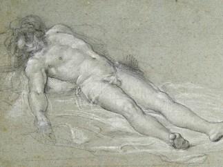 Sebastiano del Piombo - Study for the Dead Christ, about 1515-16