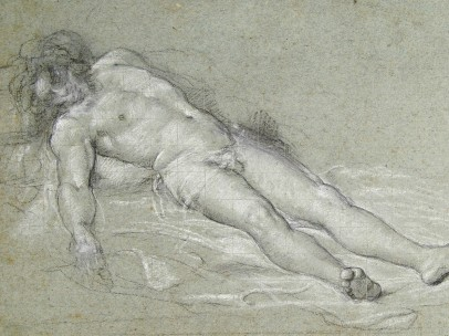 Sebastiano del Piombo - Study for the Dead Christ, about 1515-16