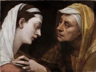 Sebastiano del Piombo - Mary and Elizabeth (The Visitation), about 1518-19