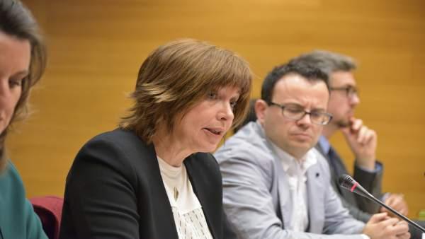 Les Corts trien Empar Marco com a directora general de la futura radiotelevisió pública valenciana