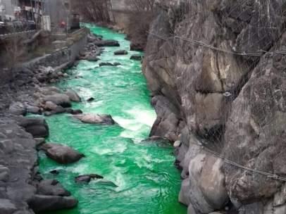 El agua del río Valira