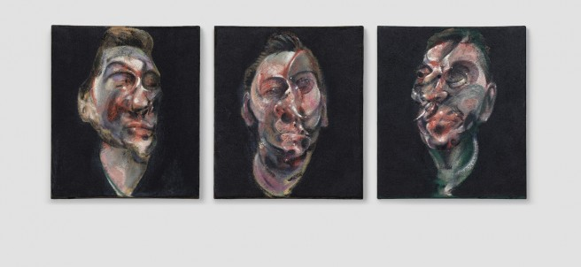 'Three Studies for a Portrait of George Dyer', 1963