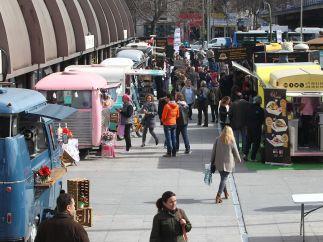 Comida callejera en Madrid