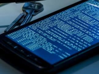 Móvil bloqueado, ransomware