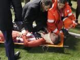 Golpe en la cabeza de Fernando Torres