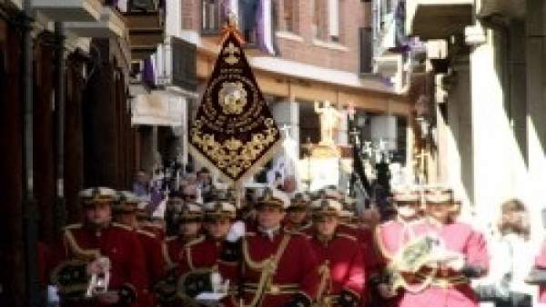 Imagen de la procesión del encuentro