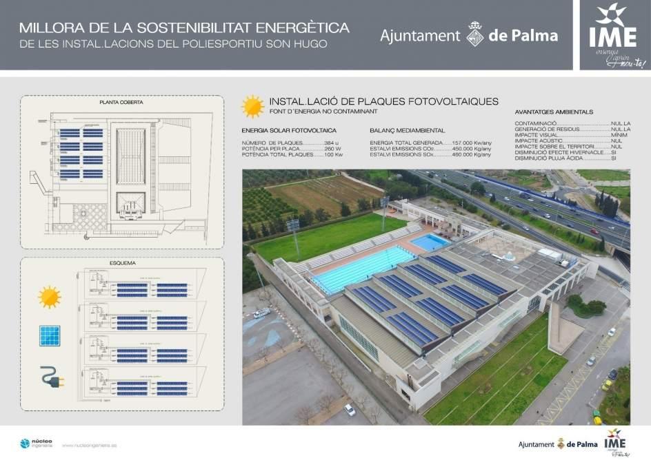 El ime mejorar las piscinas de son hugo con un plan de for Piscinas municipales palma
