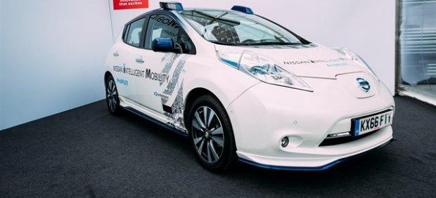 Nissan pone a prueba sus avances en coche autónomo