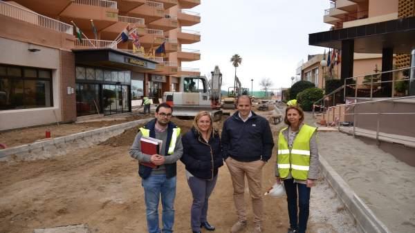 Ana Mula obras calle Jaén