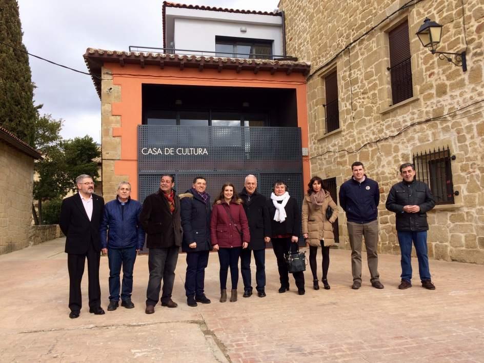Ceniceros destaca que la casa de cultura de balos constituye el nuevo centro social y cultural - Casa de cultura ignacio aldecoa ...