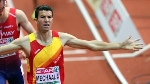 Mechaal, campeón de Europa en 3.000 metros.