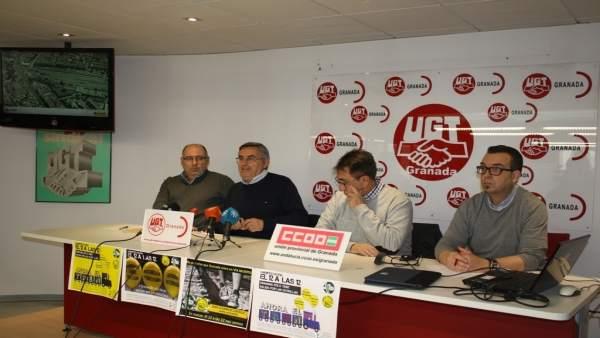 Los sindicatos animan a la participación en la manifestación por el tren