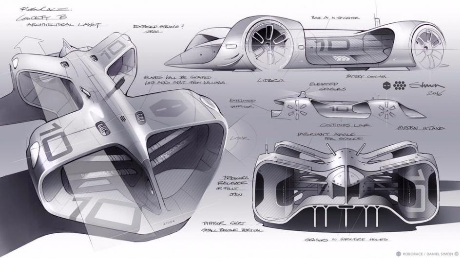 Dibujos del Robocar