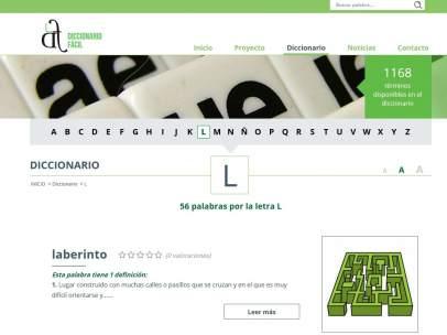 Diccionario fácil online