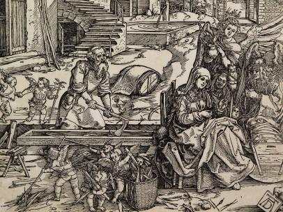 Albrecht Dürer, Repose on the Flight into Egypt, c.1504