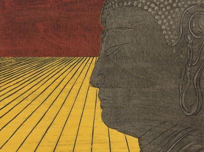 Nana Shiomi, One Hundred Views of Mitate No.88 - Great Buddha, 2011