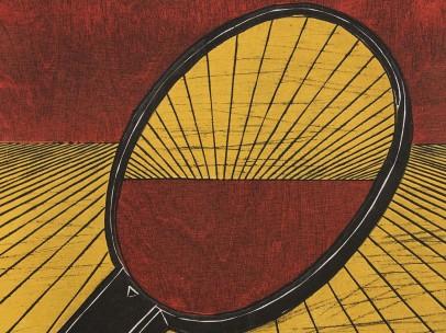 Nana Shiomi, One Hundred Views of Mitate No. 48 - Mirror, 2001