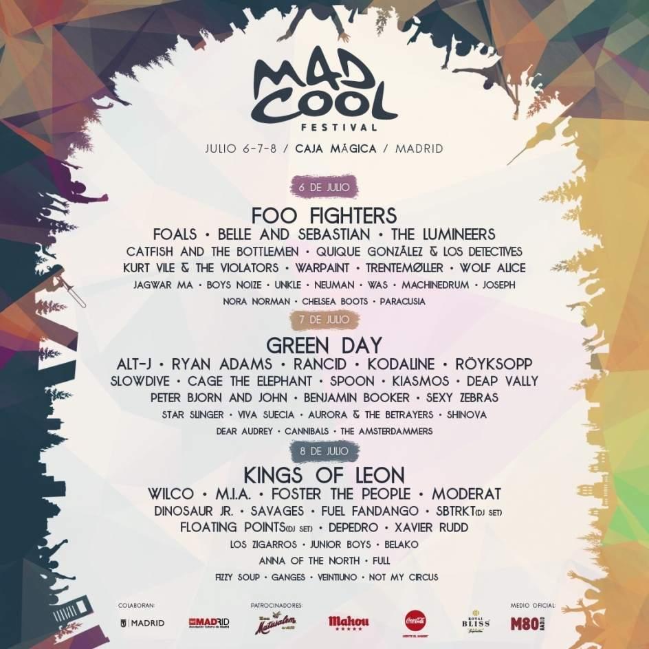 Mad Cool Festival agota todas sus entradas tres meses antes de su celebración
