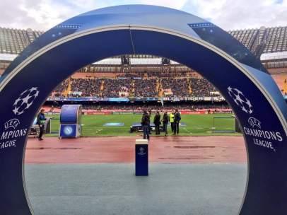 San Paolo antes del Nápoles - Real Madrid