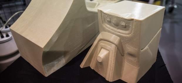 Pieza imprimida en 3D