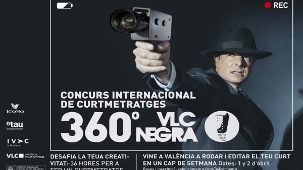 València es transformarà en plató de cinema amb el nou format del concurs de curts 360° VLCNEGRA