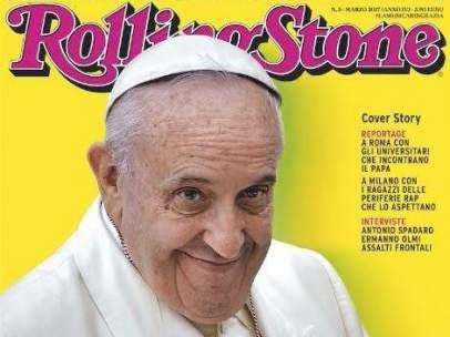 Papa Francisco protagoniza la portada de 'Rolling Stone'