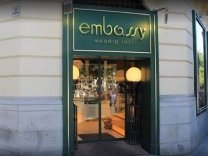 Restaurante Embassy.
