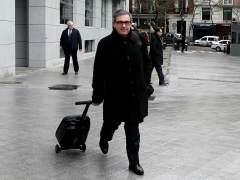 Jordi Pujol Ferrusola llega a la Audiencia Nacional.