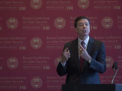 James Comey, director del FBI