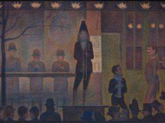 'Circus Sideshow' ('Parade de cirque'), 1887–88