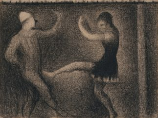 'Pierrot and Colombine', ca. 1886–88