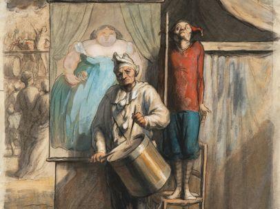 'The Sideshow' ('La Parade'), ca. 1865–66