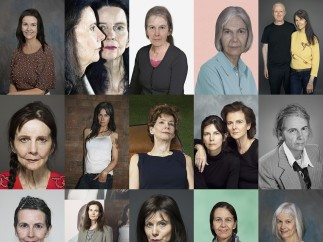 Rock 'n' Roll 70 (wallpaper) by Gillian Wearing 2015