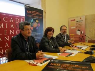 Josep Cortés, Verònica Cantó i Brauli Montoya en l'AVL