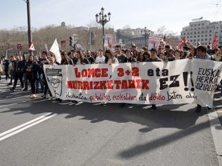 Marcha en Bilbao