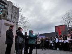 Homenaje en Pamplona a las víctimas de ETA
