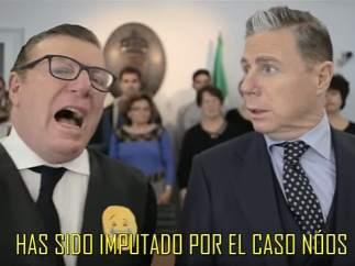 Los Morancos y Urdangarin