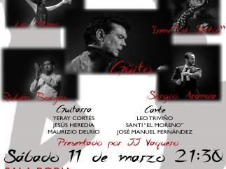 Valladolid: Cartel del II Festival Flamenco